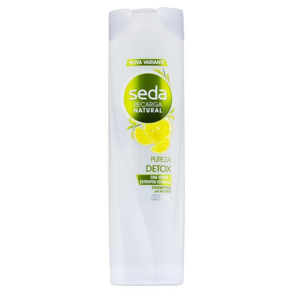 Shampoo Seda Recarga Natural Pureza Detox Frasco 325ml