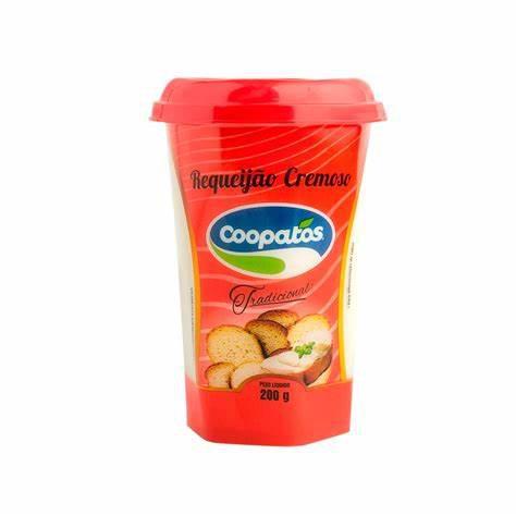 Requeijão COOPATOS Tradicional 200g