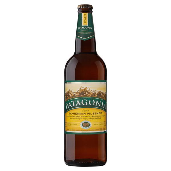 Cerveja Bohemian Pilsener Patagonia Garrafa 740ml