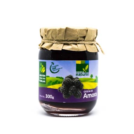 Geléias Amora Pedaço de Frutas Coopernatural 300g