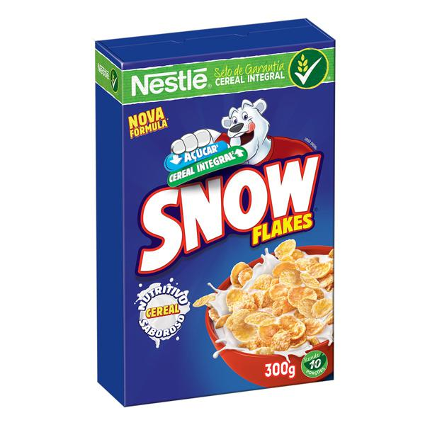 Cereal Matinal Nestlé Snow Flakes Caixa 300g
