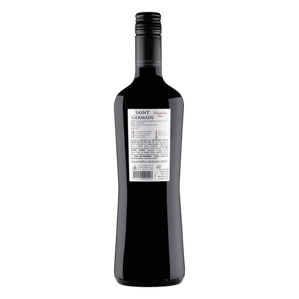 Vinho Brasileiro Tinto Seco Assemblage Saint Germain Cabernet Franc Merlot Serra Gaúcha Garrafa 750ml