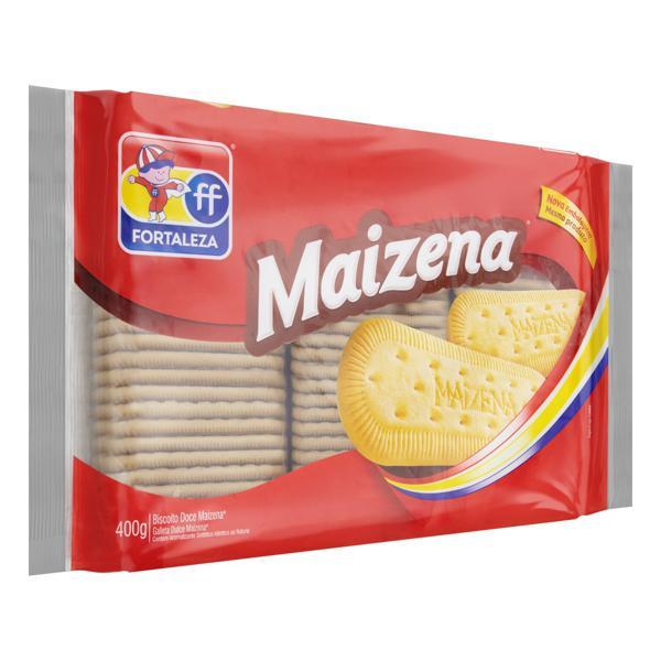 Biscoito Maisena Fortaleza Pacote 400g
