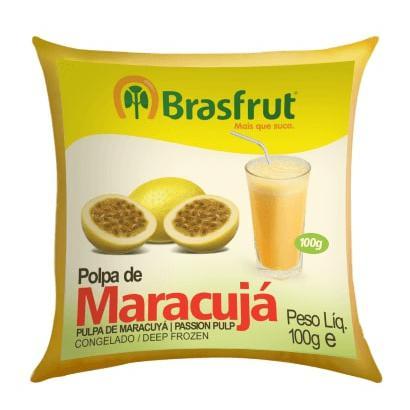 Polpa de Fruta BRASFRUT Maracujá 100g