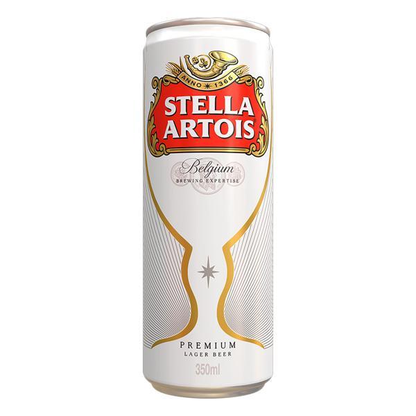 Cerveja Lager Premium Stella Artois Lata 350ml
