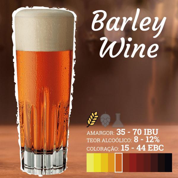 Receita English Barleywine