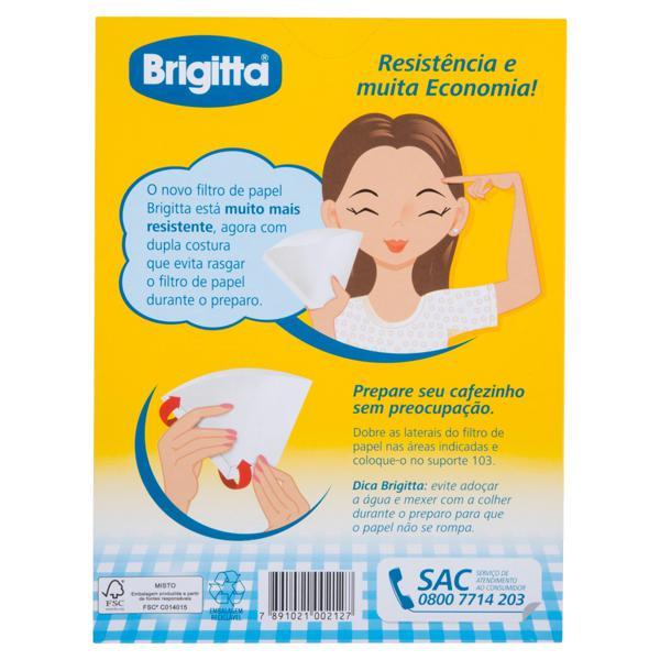 Filtro de Papel Brigitta 103 Caixa 30 Unidades