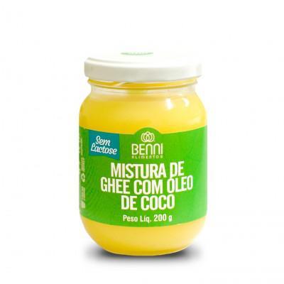 Manteiga Ghee com Óleo de Côco 200g - Benni