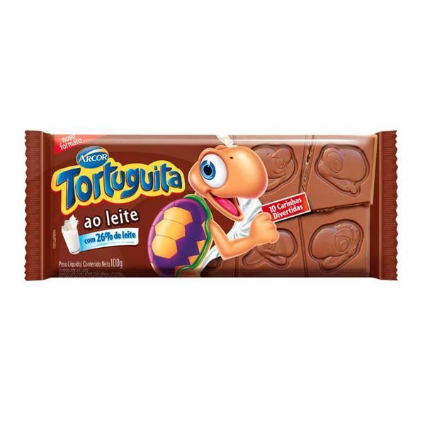 Chocolate em Barra ARCOR Tortuguita Mais Leite 100g