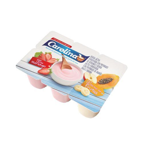 Bebida Lactea CAROLINA Polpa de Frutas 540g