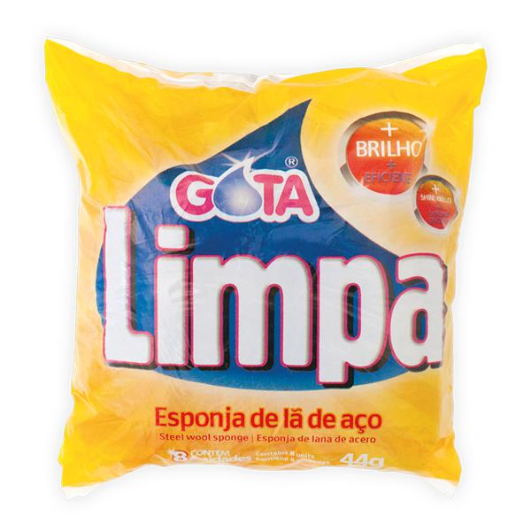 Esponja Aco Gota Limpa 44G