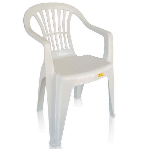 ANTARES Cadeira Poltrona Boa Vista Branca