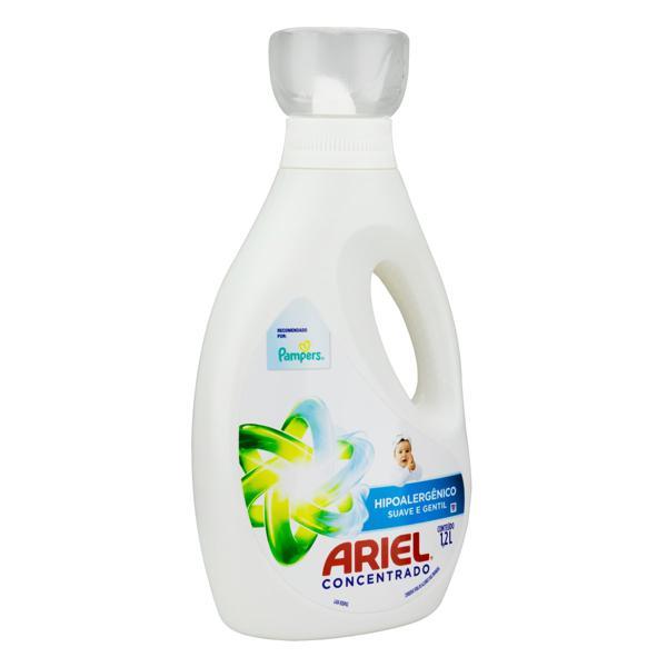 Lava-Roupas Concentrado Suave e Gentil Ariel Frasco 1,2l