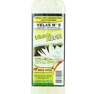 Vela VITORIA REGIA Nº5 Com 8 Unidades