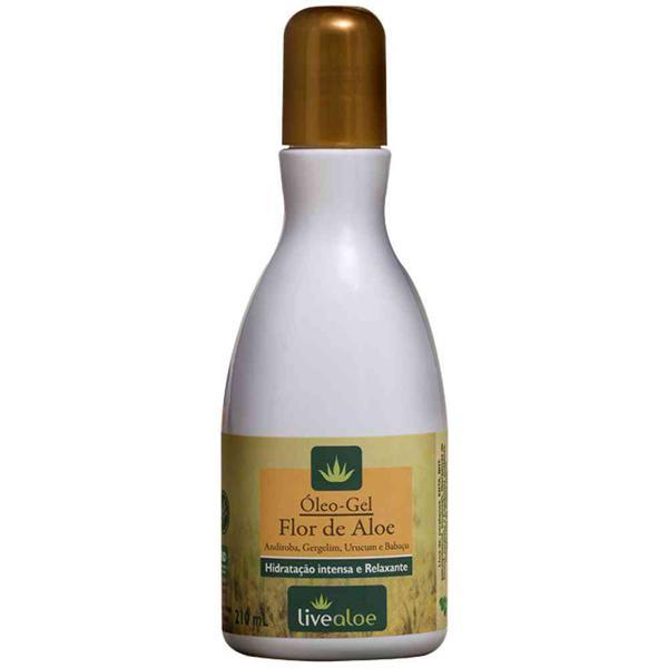 Óleo gel Flor de Aloe 120ml