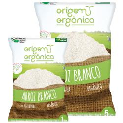 Arroz Agulinha Branco Orgânico 1kg - Origem Orgânica