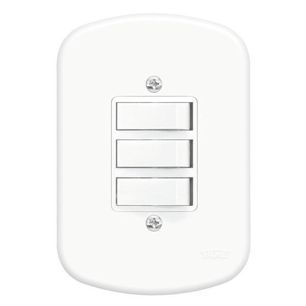 FAME Blanc 0656 3 Interruptor Simples