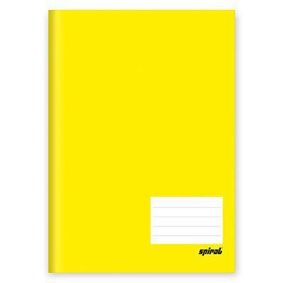 Caderno Brochura TILIBRA Amarelo 96 Folhas Costurado Capa Dura