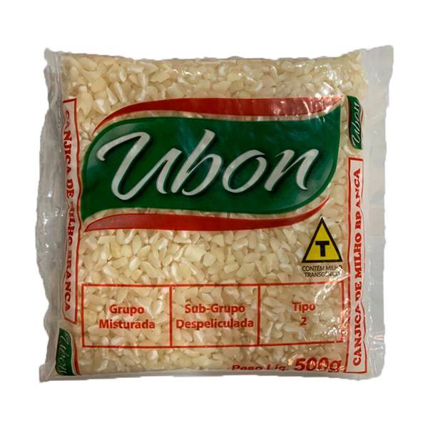 Milho Canjica UBON Branca 500g