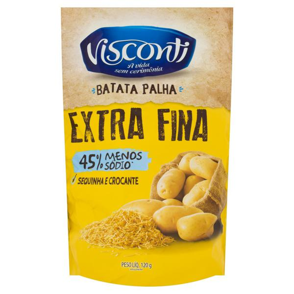 Batata Palha Extrafina Visconti Sachê 120g