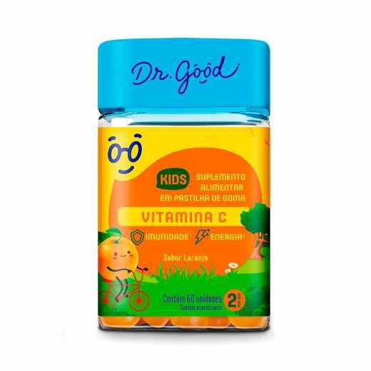 Suplemento Alimentar DR.GOOD Vitamina C Kids 30 Unidades