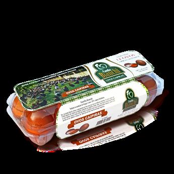 Ovos Caipira Bianchi Grande C/ 10 Unidades