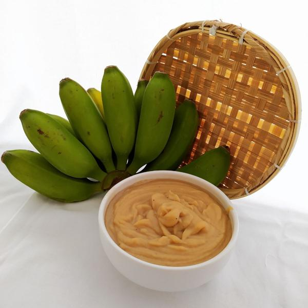 Biomassa de Banana Verde congelada 250g - Sá Vita