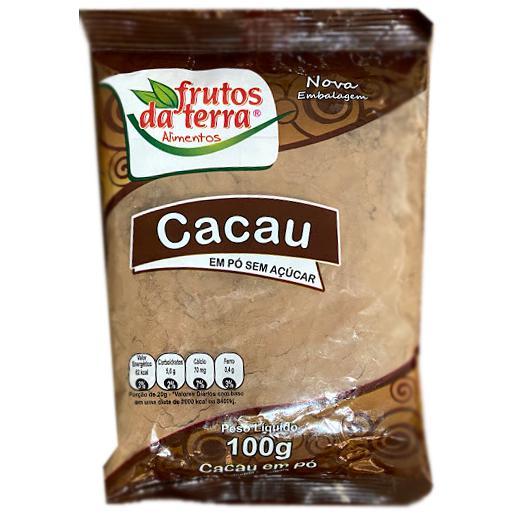 Cacau em Pó FRUTOS DA TERRA S/Açúcar 100g