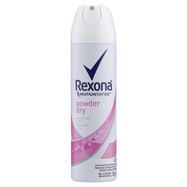 Antitranspirante Aerossol Powder Dry Rexona Motionsense 150ml