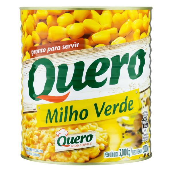 Milho Verde em Conserva Quero Lata 2kg