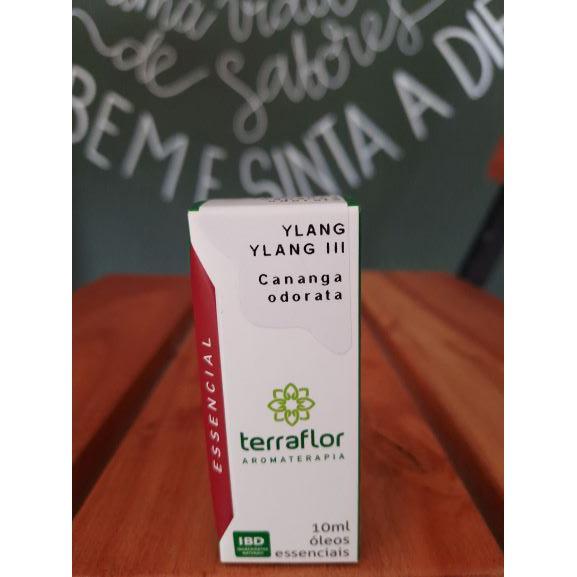 Óleo Essencial Ylang Ylang III 10ml TERRA-FLOR
