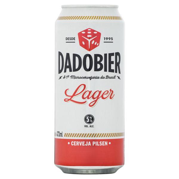 Cerveja Lager Dado Bier Lata 473ml