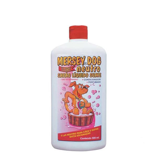 Shampoo Para Caes Mersey 500Ml Neutro