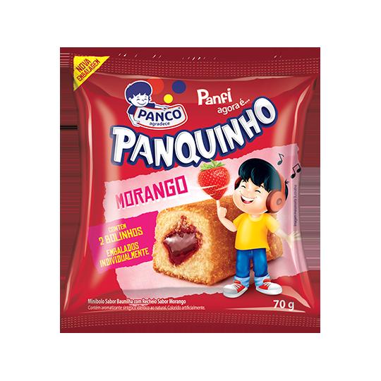 Bolinho PANCO Panfi Morango 70g