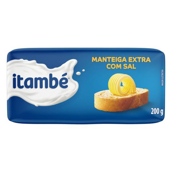 Manteiga Extra com Sal Itambé 200g