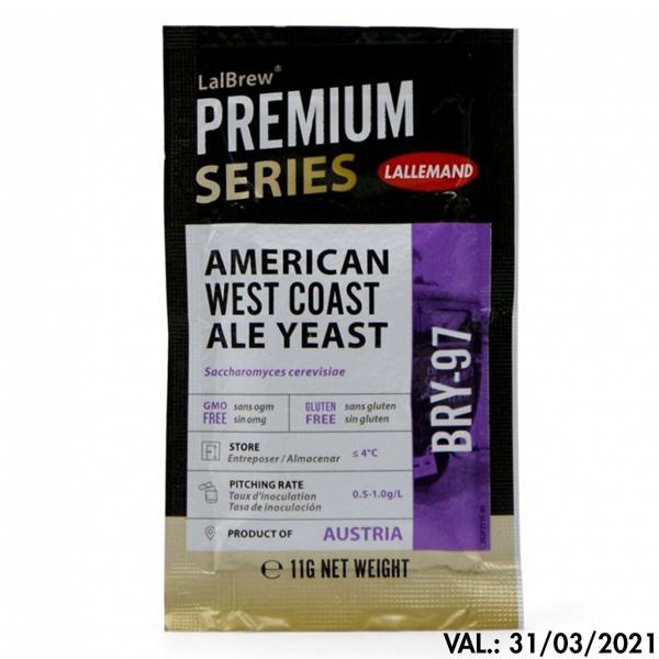 Fermento BRY-97 (American West Coast) - Lallemand 11g