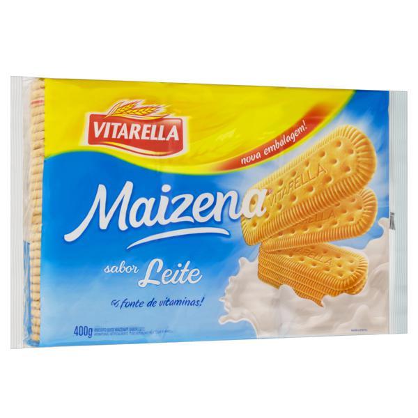 Biscoito Maisena Leite Vitarella Pacote 400g