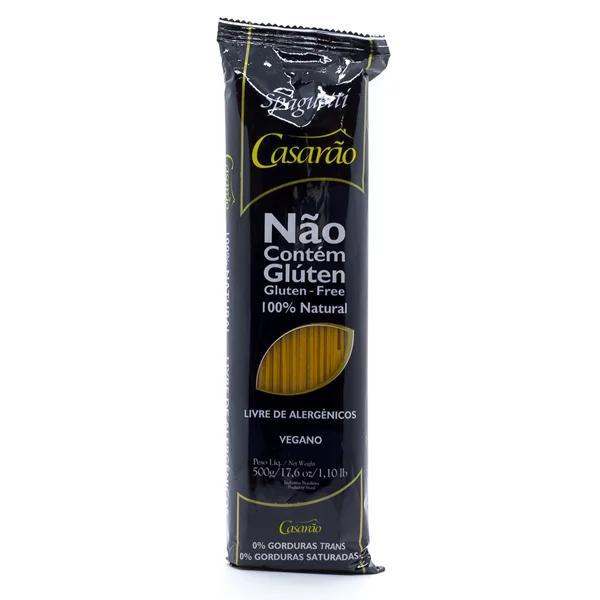 Massa Spaghetti Premium sem Ovos Casarão 500g
