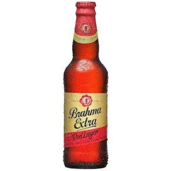 Cerveja BRAHMA Extra Red Lager Long Neck 355ml