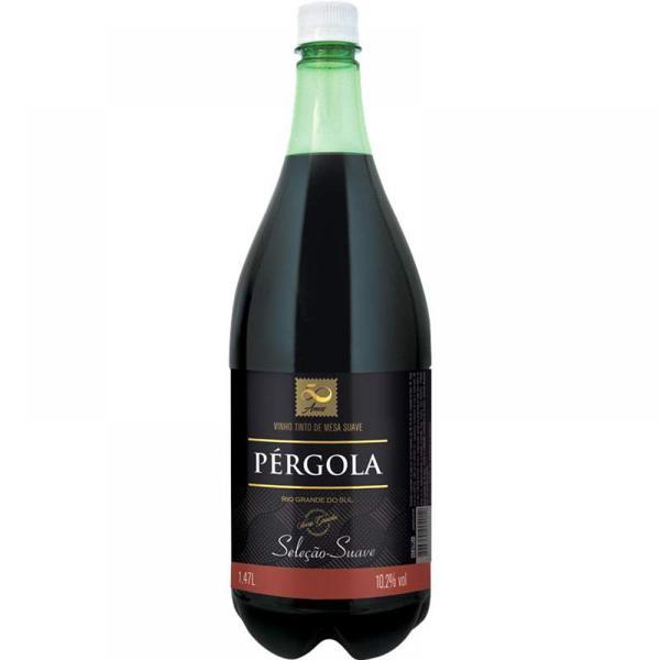 Vinho Tinto Pérgola 1,47L Suave