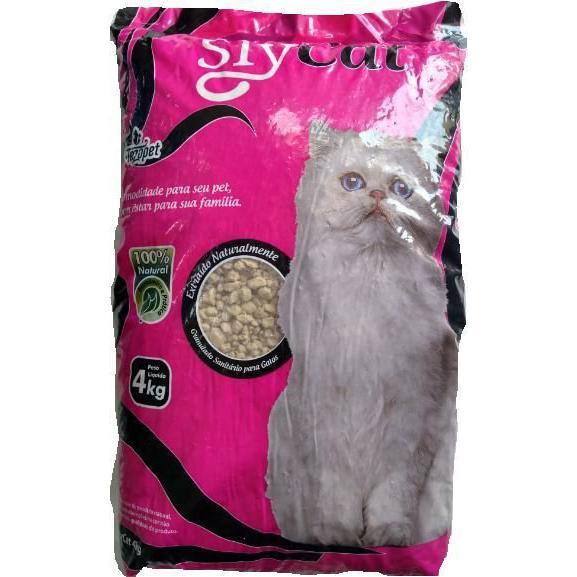 Areia P/Gato Slycat 4Kg