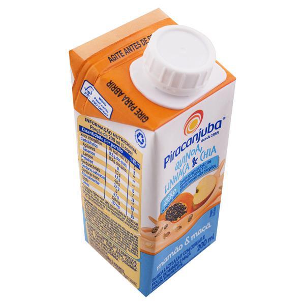 Bebida Láctea UHT Mamão e Maçã Piracanjuba Caixa 200ml