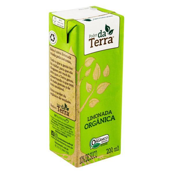 Bebida Orgânica Limonada 200ml - PODER DA TERRA