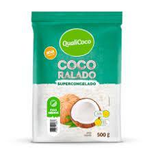 Coco Ralado Médio Congelado QUALICOCO 500g