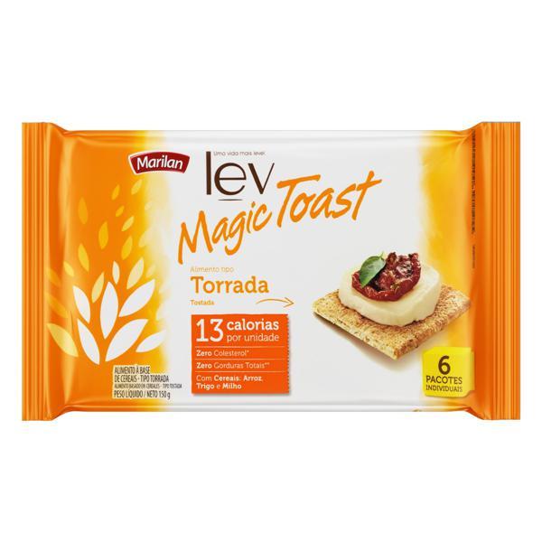 Torrada Marilan Lev Magic Toast Pacote 150g