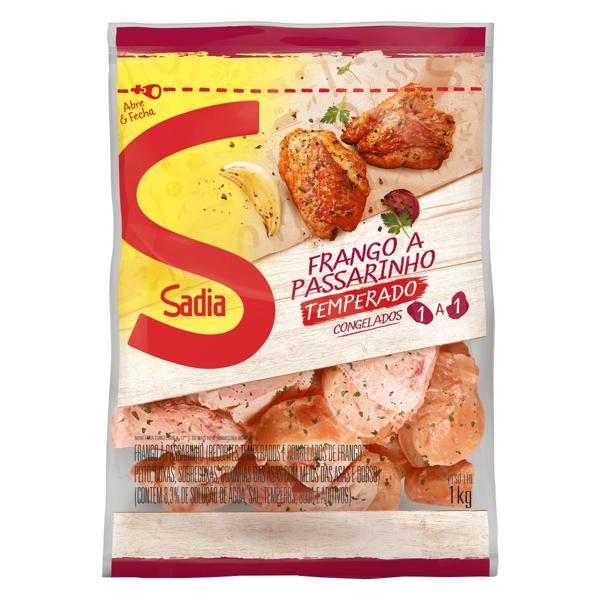Frango a Passarinho Congelado Temperado Sadia 1kg