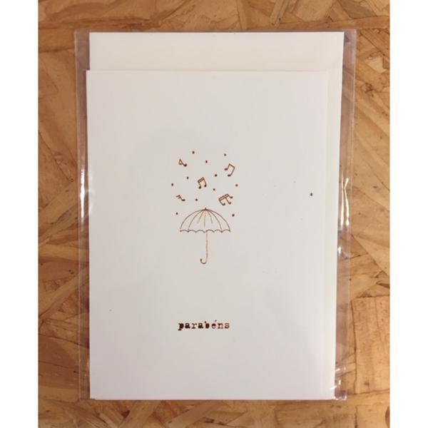 Cartão Parabéns - Anna Cunha