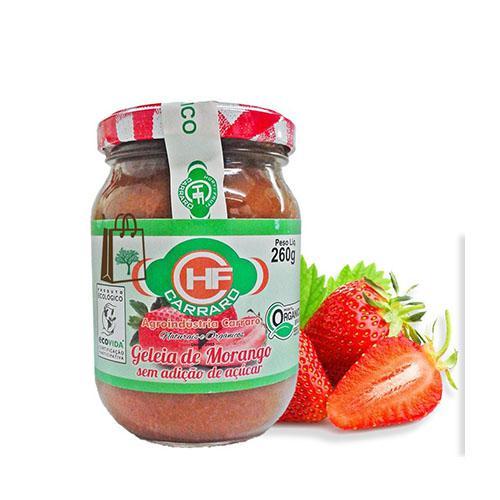 Geleia de morango 260g (Sem açúcar)