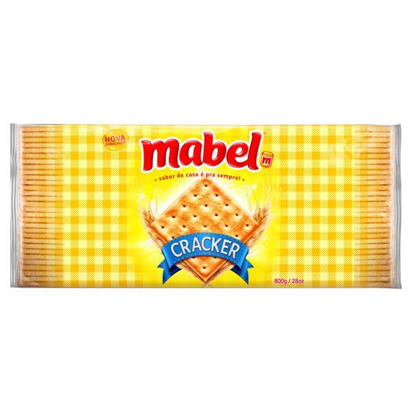 Biscoito Cracker Mabel Pacote 800g