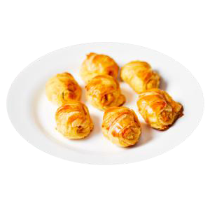 Mini Croissant Frango Encomenda